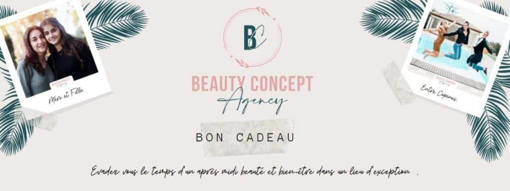 bon cadeau beauty concept